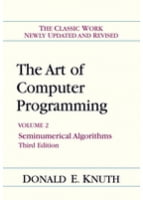 Art of Computer Programming, Volume 2: Seminumerical Algorithms, 3rd Edition
