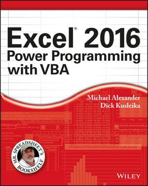 Excel 2016: профессиональное программирование на VBA - фото 1
