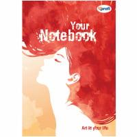 Творческий блокнот Artbook B6, радуга