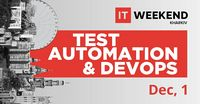 Test Automation & DevOps. Balka Book книжный партнер IT Weekend