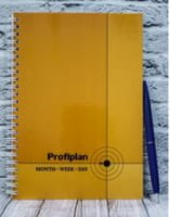 Блокнот ProfiPlan А5, квартальный, недатир. (оранжевый)