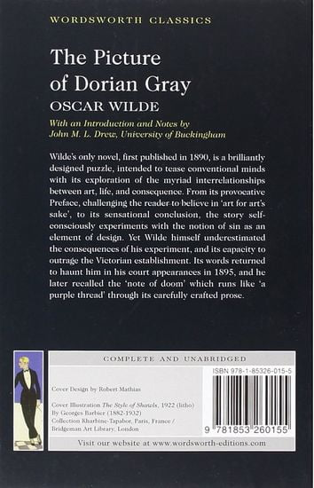 the picture of dorian gray essay introduction Professional essays on the picture of dorian gray authoritative academic resources for essays, homework and school projects on the picture of dorian gray.