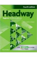 New Headway, 4th Edition Beginner Workbook with Key & iChecker CD-ROM