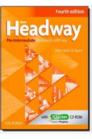 New Headway, 4th Ed Pre-Int Workbook with Key and iChecker CD Pack