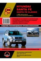 Hyundai Santa Fe / Santa Fe Classic c 2000 г. (+обновления 2004 г.) Руководство по ремонту и эксплуатации