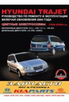 Hyundai Trajet 1996-2006 г. (+обновления 2004 г.) Руководство по ремонту и эксплуатации