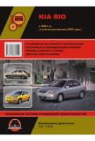 Kia Rio c 2000 г. (+рестайлинг 2003 г.) Руководство по ремонту и эксплуатации