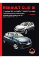 Renault Clio III c 2005 г. Руководство по ремонту и эксплуатации