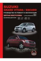 Suzuki Grand Vitara / Suzuki Escudo с 2005 г. (с учетом обновления 2008 г.) Руководство по ремонту и эксплуатации