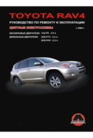 Toyota RAV4 с 2006 г. Руководство по ремонту и эксплуатации