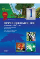 Природознавство. 1 клас (за підручником Т. Г. Гільберг, Т. В. Сак)