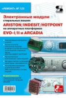 Електронні модулі пральних машин INDESIT/ARISTON/HOTPOINT на апаратних платформах EVO-I. Вип.125.