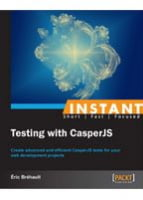 Instant Testing with CasperJS