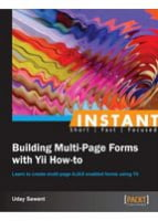 Instant Building Multi-Page Forms with Yii How-to