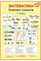 Комплект плакатів з математики. 1 клас + методичні рекомендації