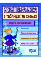 Таблиці та схеми для молодшої школи  Українська мова для учнів початкових класів(За новою програмою)