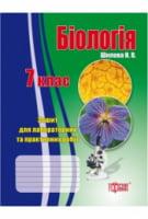 Лабораторні роботи і контрольні  Біологія. 7 клас