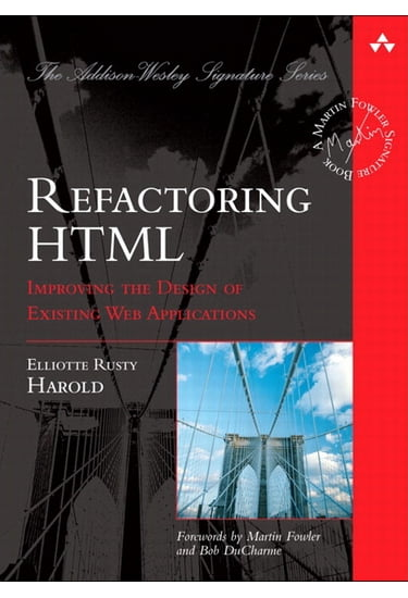Refactoring+HTML%3A+Improving+the+Design+of+Existing+Web+Applications+%28paperback%29 - фото 1