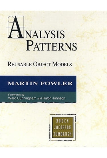 Analysis+Patterns%3A+Reusable+Object+Models+%28paperback%29 - фото 1