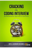 Cracking the Coding Interview. 189 Programming Questions and Solutions 6th Edition