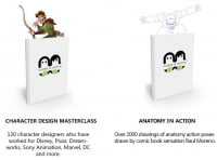 Book 2 & 3. Character Design Masterclass & Anatomy In Action