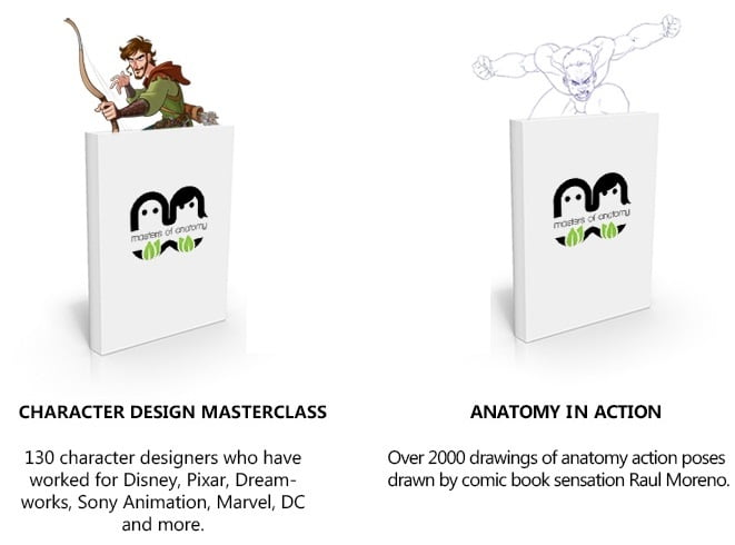 Character Design Masterclass Book : Книга book character design masterclass anatomy