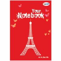 Творческий блокнот Artbook B6, red