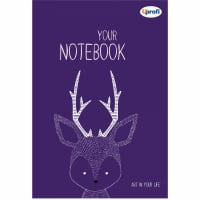 Творческий блокнот Artbook B6, violet