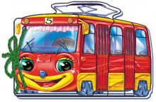 М які машинки : Трамвайчик (у)
