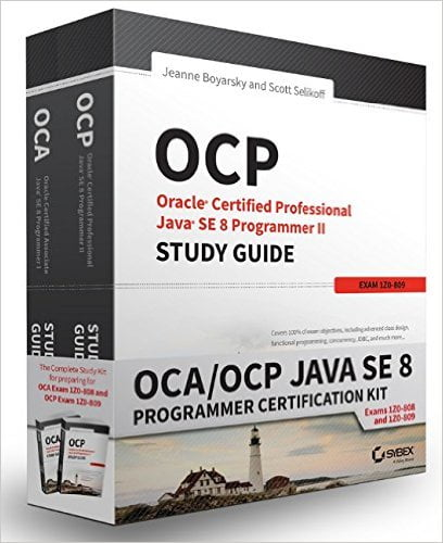 OCA+%2F+OCP+Java+SE+8+Programmer+Certification+Kit%3A+Exam+1Z0-808+and+Exam+1Z0-809+1st+Edition - фото 1