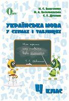 Українська мова в схемах і таблицях 4 кл.
