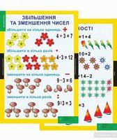 Математика, 1-2 кл. НМК (17 плакатів). ISBN 978-617-667-037-7