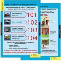 Основи здоров'я, 1-4 кл. НМК (13 плакатів). ISBN 978-617-667-029-2