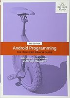 Android Programming: The Big Nerd Ranch Guide, 3nd Edition