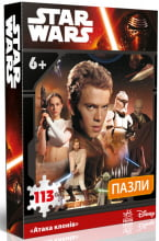 """Star Wars : Пазли """"Атака клонів"""" (у)"""