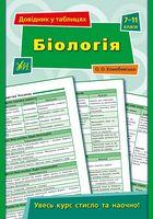 Біологія. 7–11 класи