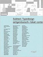Subtext: Typedesign