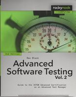Advanced Software Testing - Vol. 2, 2nd Edition. Guide to the ISTQB Advanced Certification as an Advanced Test Manager 2nd Edition