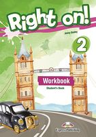 RIGHT ON! 2 WORKBOOK STUDENT'S BOOK (WITH DIGIBOOK APP)