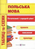 Польська мова. Таблиці та схеми. Початковий і середній рівні