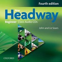 Диск для лазерних систем зчитування New Headway 4th Edition Beginner: Class Audio CDs