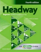 Підручник New Headway 4th Edition Beginner Workbook Without Key and iChecker Pack