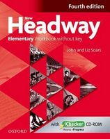 Підручник New Headway 4th Ed Elementary: Workbook without Key & iChecker CD Pack