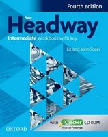 Підручник New Headway 4th Ed Intermediate: Workbook with key & iChecker CD Pack (шт)