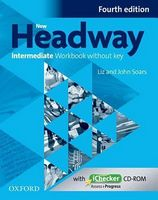 Підручник New Headway 4th Ed Intermediate: Workbook without key & iChecker CD Pack