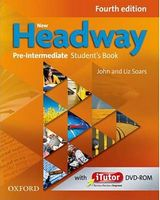 Підручник New Headway, 4th Edition Pre-Intermediate: Student's Book Pack & iTutor DVD-ROM