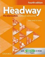 Підручник New Headway, 4th Edition Pre-Intermediate: Workbook without Key & iChecker CD Pack (шт)