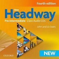 Диск для лазерних систем зчитування New Headway 4th Ed Pre-Intermediate: Class Audio CD