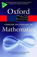 Словник The Concise Oxford Dictionary of Mathematics Fourth Edition