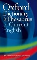 Словник Oxford Dictionary & Thesaurus of Current English 2/e